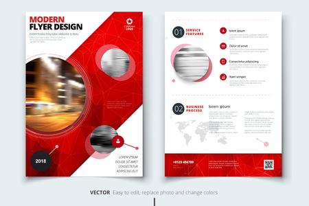 fl: Brochure design. Corporate business report cover, brochure or fl
