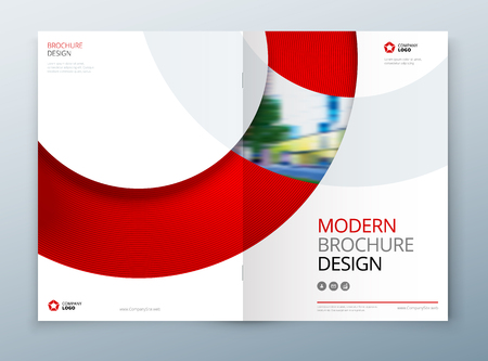 Brochure Template Layout Design Corporate Business Annual Report - Brochures template