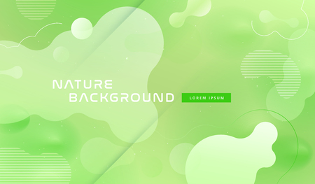 Colorful geometric background pattern. Fluid shapes composition with trendy gradients. Eps10 vector