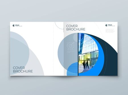 Square Cover with minimal geometric design. Modern abstract backgrounds for Brochures, Placards, Posters, Flyers, Banners etc. vector template.