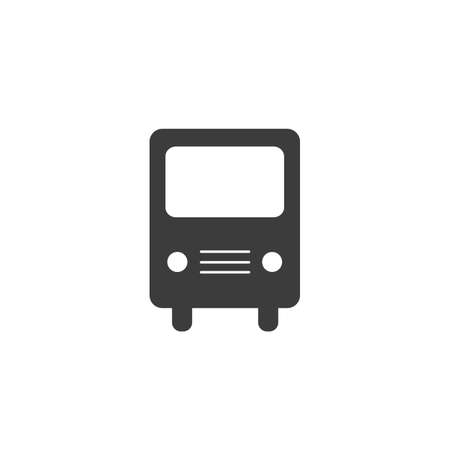 buss: Bus icon. Bus isolated on white background.