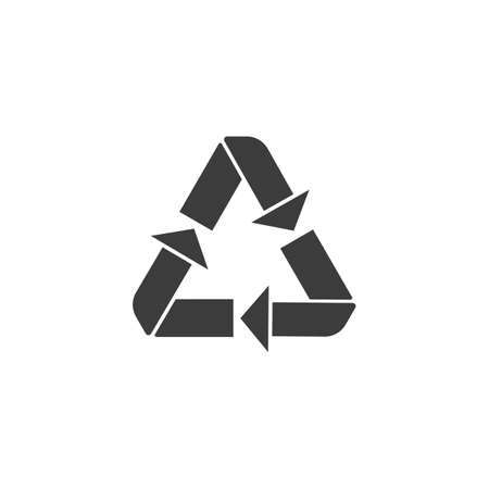 waste recovery: Recycle icon.