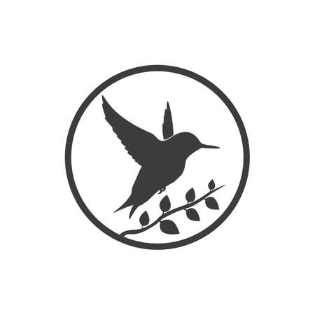 Bird icon. Bird Vector isolated on white background.