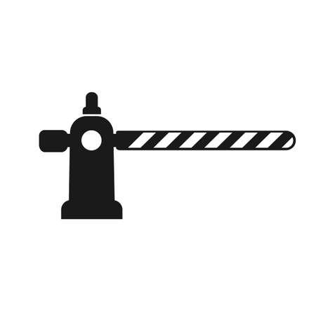 Barrier Icon Vector Vektorové ilustrace
