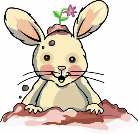 Use this bunny design for your next project