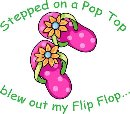 flipflop: Use these Pink Flip Flops for your next vacation to Beach