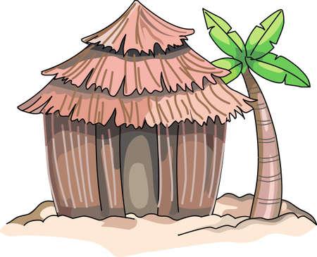 97 tiki hut stock vector illustration and royalty free tiki hut clipart rh 123rf com Cartoon Tiki Hut tiki hut clipart free