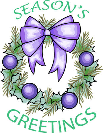 decorations wreaths: Send holiday cheers with this beautiful Christmas wreath.