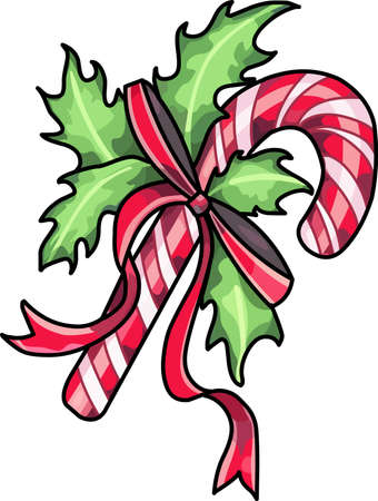 Send holiday cheers with this beautiful Christmas candy cane.