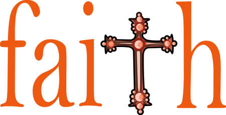 believer: The cross represents Christ because of his Crucifixion and Resurrection. Pick those designs by Great Notions.