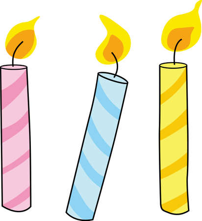 favors: Planning the perfect birthday party with these pretty candles can even be more fun with these party favors.  Everyone will love them.