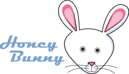 cottontail: This adorable Easter bunny design is perfect for this spring.