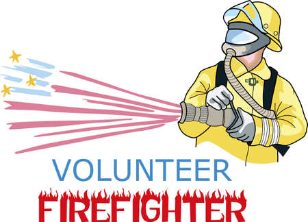 Firefighters work hard every day to risk their lives for others.