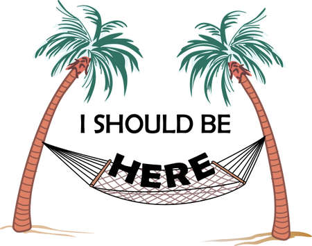 should: Relaxing under the palm tree is a wonderful way to spend a vacation.