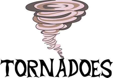 tornadoes: Time to cheer for the team with this Tornado mascot design.