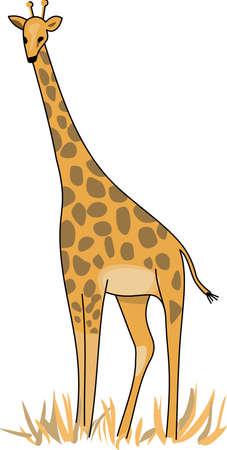 Afrika ontdekken met deze leuke giraf. Perfect voor je klas!