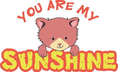 bringing: Good morning sunshine!  This cute bear of happiness is bringing a smile to start your day.