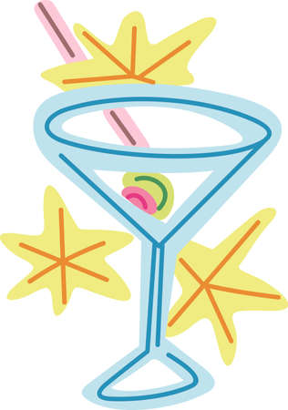 give out: Martini is the perfect combination for group relaxation!  Give this to your friends and go out in style.  They will love it for happy hour.