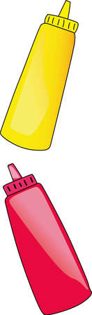 condiment: The perfect label for the supplies containers at your restaurant.