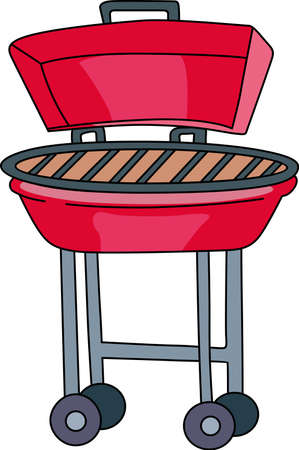 Cookin barbeque on a nice summer day enjoying the family picnic! Time for some kabobs.  Perfect to add to your next tailgating party!