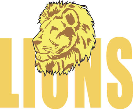 mountain lions: Show your team spirit with this Eagle.  Perfect on a shirt or jacket. Everyone will love it!