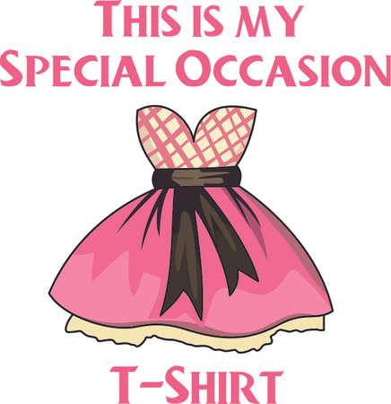 すべての女の子はドレスアップ大好き!これ、贈り物として与える女の子を知っています。 彼らはそれを愛する!  イラスト・ベクター素材