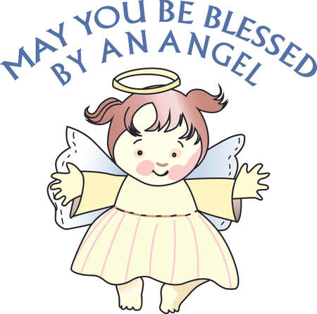 Every time a bell rings and angel gets their wings.   Ilustração