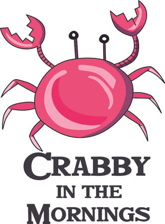 crabby: Display your astrological sign with this beautiful crab for the sign Cancer.