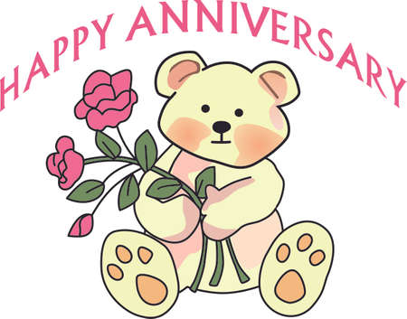Celebrating marriage is a wonderful event.  Include this design on the anniversary decorations for the party.