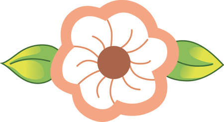 applique flower: Add these flowers to a special gift for someone you know who enjoys spring and wishing the snow to stop falling.  She will love it!