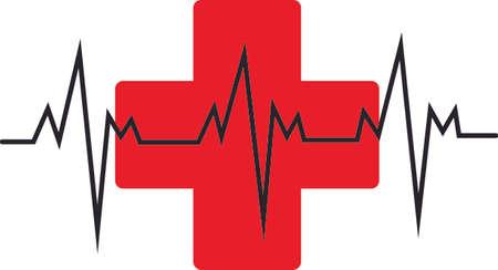 의료진은 생명을 구하기 위해 매일 노력하고 있습니다. 일러스트