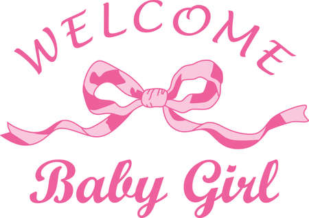 Célébrez cet événement merveilleux et donner un cadeau pour le bébé! Les fiers parents vont adorer les éléments qui sont spéciale pour leur petit garçon! Banque d'images - 44928319