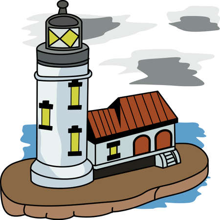 mares: A lighthouse is a beacon of light in the dark for ships on the seas.