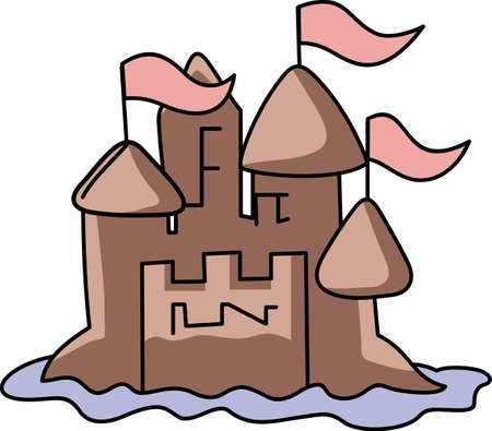 fortresses: Life is good when you are on vacation at the beach.  Include this when packing for your summer trip.  Everyone will love it!