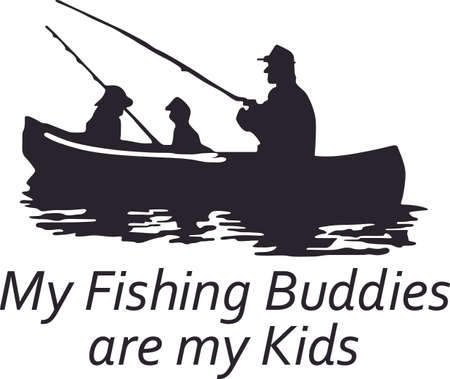 Dont forget this cute design when you go fishing.  This design is perfect to take with you when you go.  Everyone will love it!