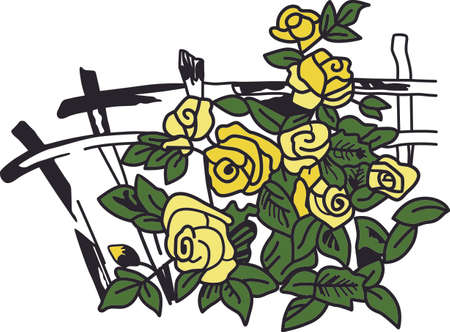 Get this beautiful rose trellis for a tote for a gardener.  She will love it!