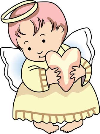 Jedes Mal schellt eine Glocke und Engel erhält ihre Flügel. Standard-Bild - 44931803