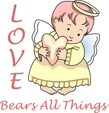Every time a bell rings and angel gets their wings.   Ilustracja