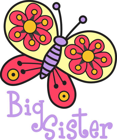 This beautiful butterfly shows a springtime design.