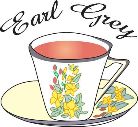 リラックスした午後、紅茶の好きなカップに最適。