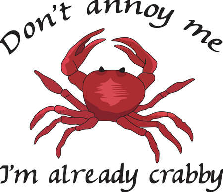 pincer: This cute crab design is perfect for a seaside theme.