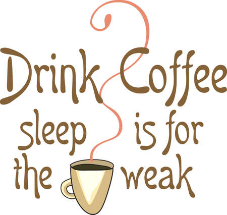 最大限に人生を生きる熱い一杯のコーヒーで。
