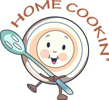 皿とスプーン、この童謡を思い出して懐かしいな子として屈託のない生活。 子供にこれを与えるしより楽しく思い出。 彼らはそれを愛する!