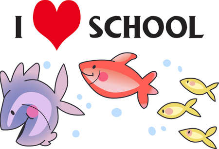 dreamland: These  little fish go swimming by.  Send your little one to dreamland with these cute fish.  Perfect for the nursery!