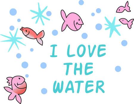 이 귀여운 물고기는 해변에 가져 가거나 어린이 방에 딱 맞습니다. 선물로주세요. 그들은 그것을 좋아할 것이다! 스톡 콘텐츠 - 44952756