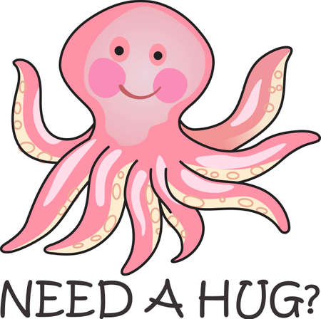 give and take: This cute octopus is perfect to take to the beach or perfect for childs room.  Give as a gift.  They will love it!