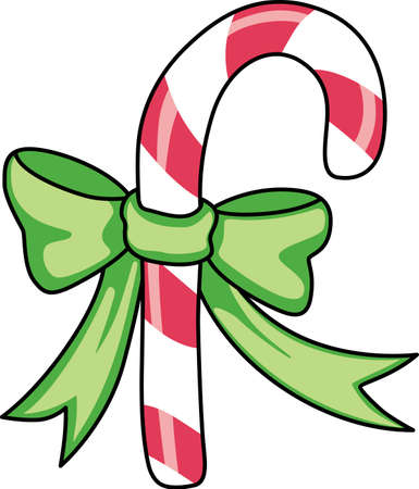 Send holiday cheers with these beautiful Christmas candy cane. Pick those designs by Great Notions!