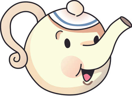 solve: Its time for tea  to solve everything.  Give this to someone who needs cheering up.  They will love it! Illustration