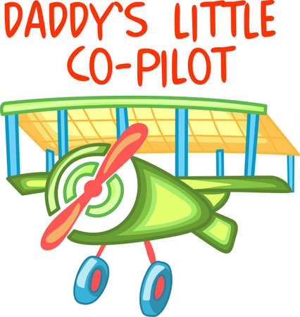 prop: Enjoy flying to visit relatives.  Let everyone know.  They will love it! Illustration