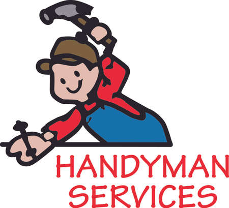 Its the perfect advertisement for your handyman business.  Get these designs from Great Notions. Ilustrace